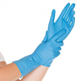 Nitril handschoenen SUPER lengte 30 cm
