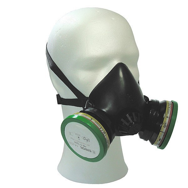 Seybol gasmasker Respir II (standaard)