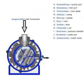 Rotatie Vacuum Pomp VT4.10