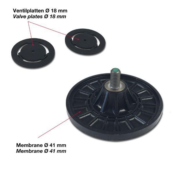 Reserve onderdelen voor Vacuum pomp P1-N