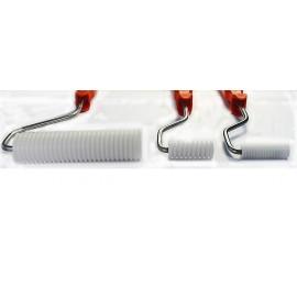 Delrin® Finned Roller (cross grooves)