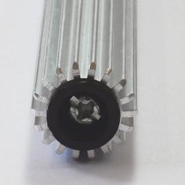 Aluminium Paddle Roller (longitudinal grooves)