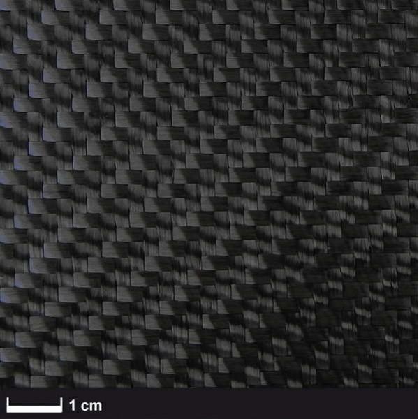 Carbon 600 g/m² ,Keper, 100 cm breed