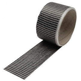 Carbon Tape 125 g/m² , UD vierkant, 50 mm breed