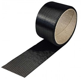Carbon Tape 200 g/m² , UD vierkant, 50 mm breed