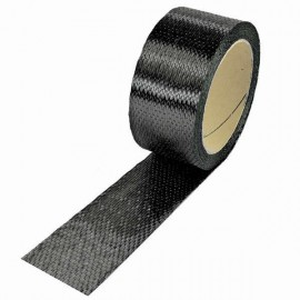 Carbon Tape 300 g/m² , UD vierkant, 45 mm breed