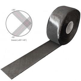 Carbon Tape 300 g/m² , Biax, 100 mm breed