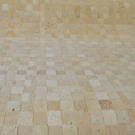 Kurk weefsel 320 g/m² vierkant, 100 cm breed