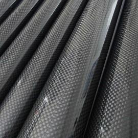 Carbon / Kevlar Buis Gewikkeld, PW, (3K)