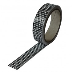 Carbon Tape 125 g/m² , UD vierkant, 25 mm breed