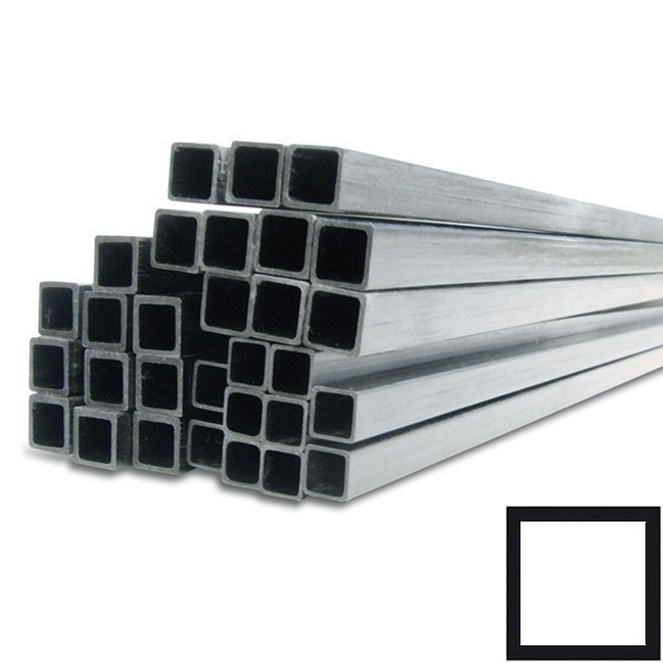 Carbon Buis Vierkant gepultrudeerd vinylester carbon