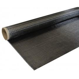 Carbon Weefsel 160 g/m² (aero), 100cm breed, keper geweven