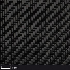 Carbon Weefsel 160 g/m² , 100 cm breed,  keper geweven
