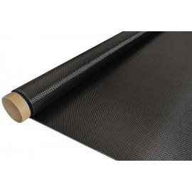 Carbon Weefsel 200 g/m² (aero), 100 cm breed,  vierkant geweven