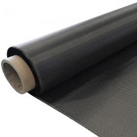 Carbon Weefsel 200 g/m², 100 cm breed,   vierkant geweven