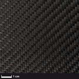 Carbon weefsel  200 g/m², keper geweven, breedte 100 cm