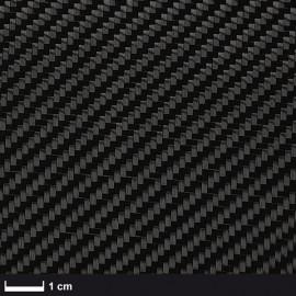 Carbon Weefsel 245 g/m² (aero),100 cm breed,  keper geweven