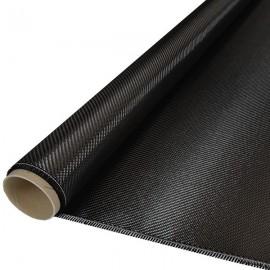 Carbon weefsel 245 g/m², keper geweven,127 cm breed