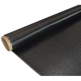 Carbon weefsel 245 g/m² (Aero), keper geweven,150 cm breed