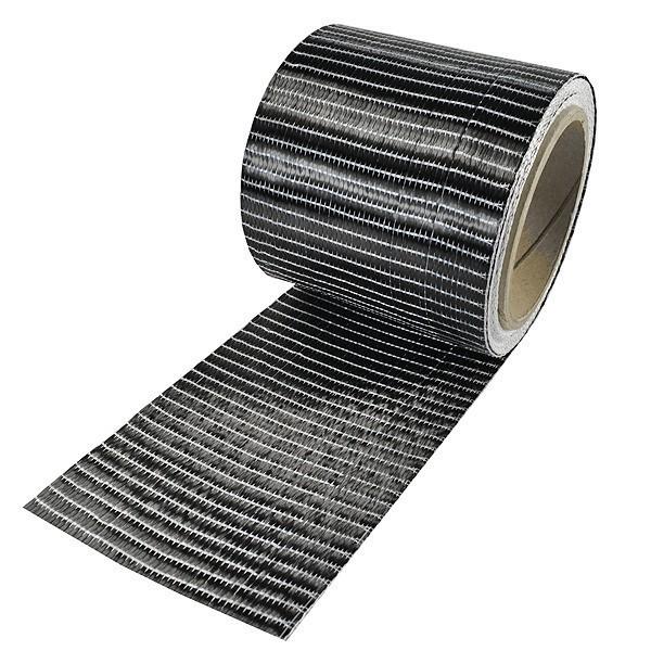 Carbonvezel tape 250 g/m² uni 100 mm plain geweven