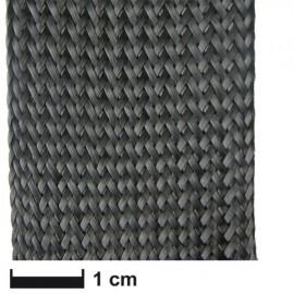 Carbonvezel slang gevlochten 35 mm