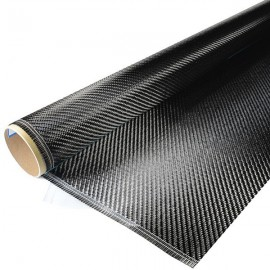 Carbon Weefsel 200 g/m², 100cm breed, anti slip, keper geweven