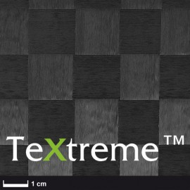 TeXtreme® Carbon Weefsel 64 g/m², 100 cm breed