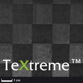 TeXtreme ® carbon weefsel 80 g/m² HT vierkant geweven, breedte 100 cm