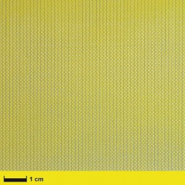 Aramide weefsel 61 g/m² (aero) vierkant geweven, 100 cm breed