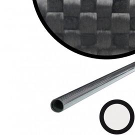Carbon Buis Gewikkeld, PW, (1K)