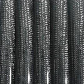 Carbon Buis Gewikkeld, PW, (1k/± 45°)