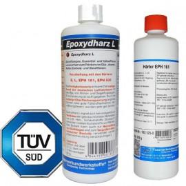 Epoxyhars L + Verharder EPH 161 (set van 2 componenten)