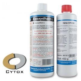 Epoxyhars L + Verharder EPH 500 (set van 2 componenten)