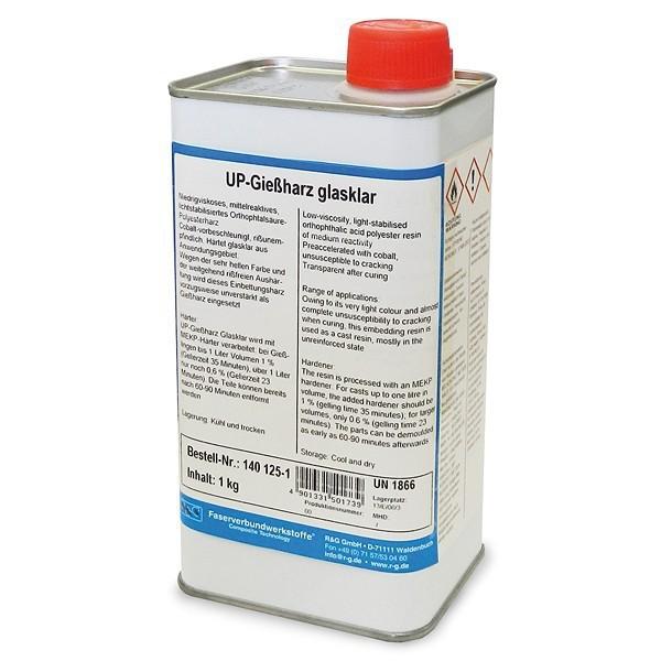 Polyester giethars transparant