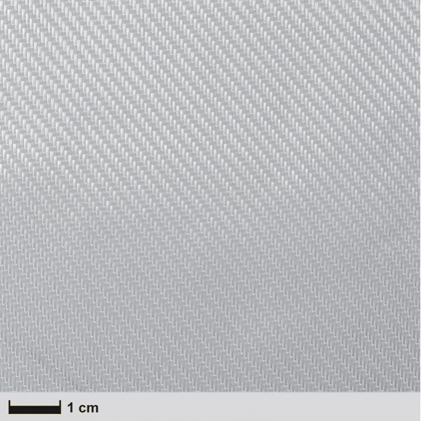 Glas 163 g/m² Keper, 100 cm breed