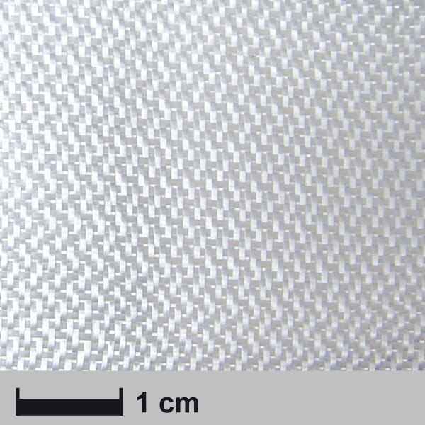 Glasvezel weefsel 210 g/m²  4H satijn geweven, 120 cm breed