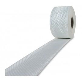 Glasvezel weefsel tape 225 g/m² 30 mm plain geweven, silaan