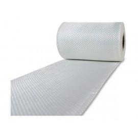 Glasvezel weefsel tape 225 g/m² 80 mm plain geweven, silaan