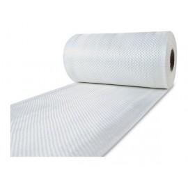 Glasvezel weefsel tape 225 g/m² 100 mm plain geweven, silaan