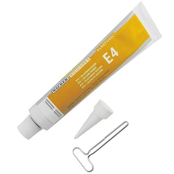 Elastosil E4, 1 component reparatie massa voor siliconen